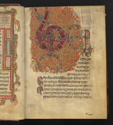 Psalm 1, in a Psalter f.2r